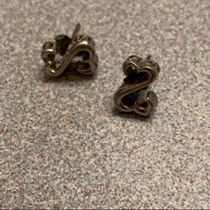 Kay Jewler open heart earrings